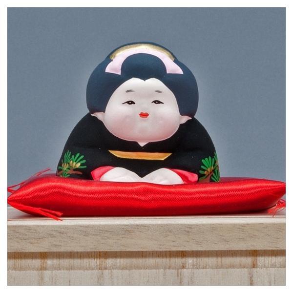 博多人形 【三福三 (さんぷくさん)お福さん】  福の神といわれ、招福万来のお福さん|hakata-honpo|03