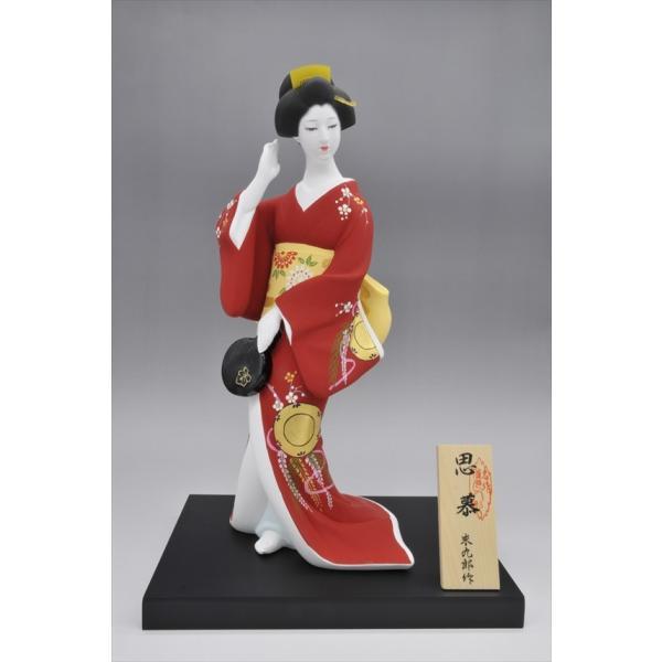 博多人形 【思慕 (しぼ) 】 日本の伝統の「美」「優しさ」。博多で・・そして、海外で大人気の博多人形|hakata-honpo