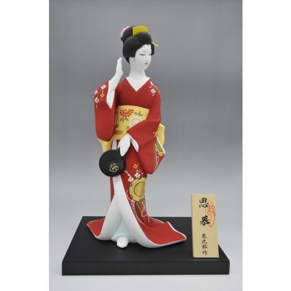 博多人形 【思慕 (しぼ) 】 日本の伝統の「美」「優しさ」。博多で・・そして、海外で大人気の博多人形|hakata-honpo|02
