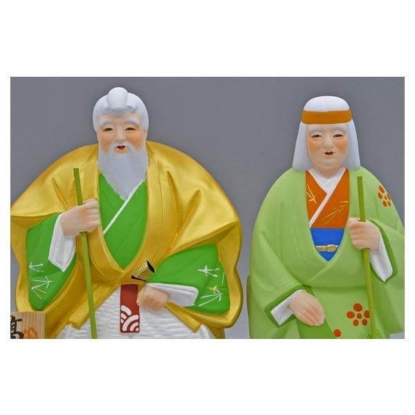 博多人形 【高砂】 愛と長寿を祝う高砂|hakata-honpo|02
