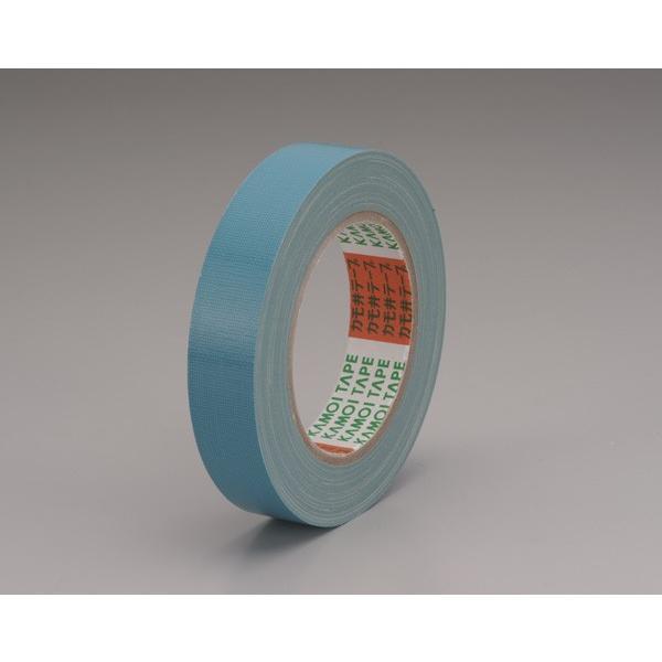 養生・マスキングテープ カモイ布テープ#6708 ソラ 25mm×25m 青 60巻入り