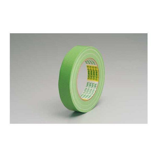 養生・マスキングテープ カモイ布テープ#6708 緑 30mm×25m 緑 60巻入り