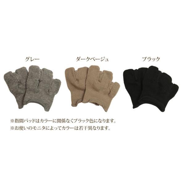 【日本製】《楽ちゃん(ハーフ丈)》外反母趾 矯正サポート 3本指靴下 靴下 レディース|hakigokochi-sore|03
