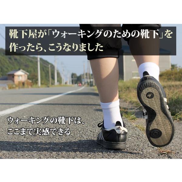 訳あり 五本指 チタン入り ウォーキング ソックス|hakigokochi-sore|02