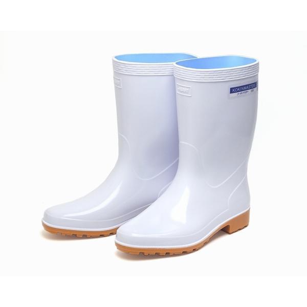 アサヒ クリーンセーフ300 コーキンマスター 耐油長靴 ホワイト  (在庫処分)