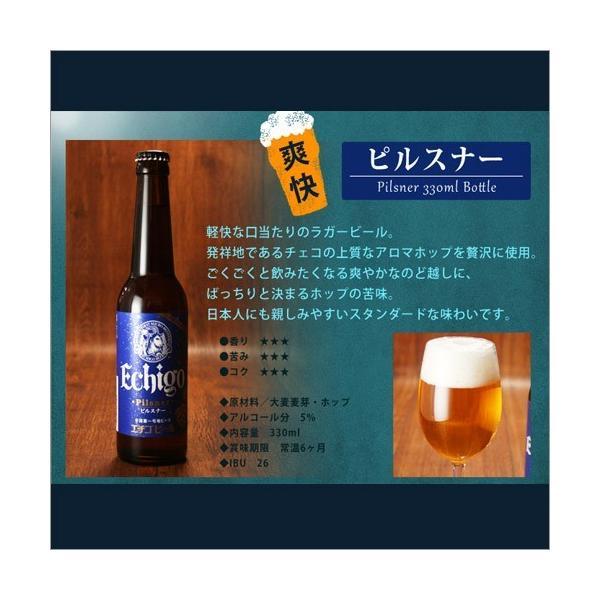 バレンタイン 2019 プレゼント 送料無料 ビール 飲み比べ 地ビール 6本 クラフト 詰め合わせ エチゴビール|hako-bune|07