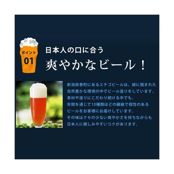 バレンタイン 2019 プレゼント 送料無料 ビール 飲み比べ 地ビール 6本 クラフト 詰め合わせ エチゴビール|hako-bune|08
