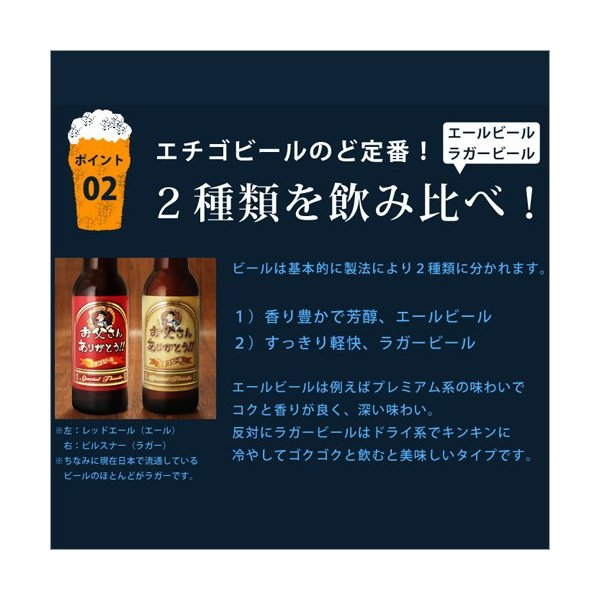バレンタイン 2019 プレゼント 送料無料 ビール 飲み比べ 地ビール 6本 クラフト 詰め合わせ エチゴビール|hako-bune|09