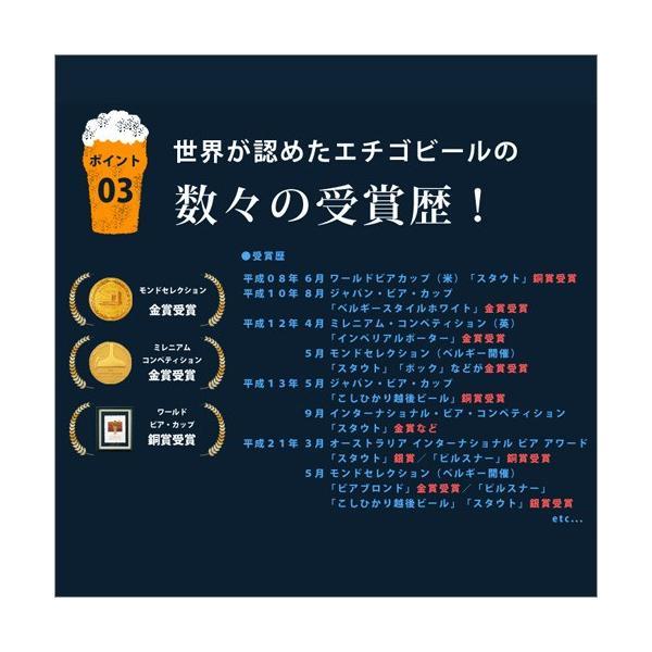 バレンタイン 2019 プレゼント 送料無料 ビール 飲み比べ 地ビール 6本 クラフト 詰め合わせ エチゴビール|hako-bune|10