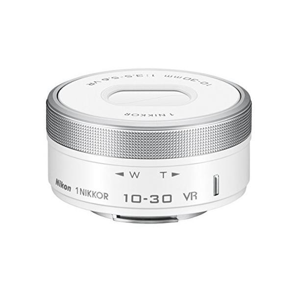 Nikon 標準ズームレンズ1 NIKKOR VR 10-30mm f/3.5-5.6 PD-ZOOM ホワイト 1