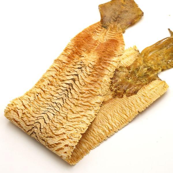 のしいか 無添加 するめ 北海道産 ビッグサイズ すだれ焼き ソフトするめ 130g前後 驚きの全長80cm 炙り のしいか|hakodate-e-kombu|07