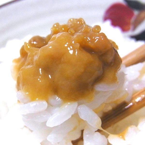 うに ウニ )うにジャン辛漬け 100g 瓶入り urchin|hakodate-e-kombu|05