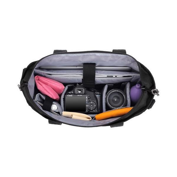 【訳ありアウトレット】OUTDOOR PRODUCTS(アウトドアプロダクツ) カメラトートバッグ01 ブラック ODCTB01BK 4977187205091 hakuba 03