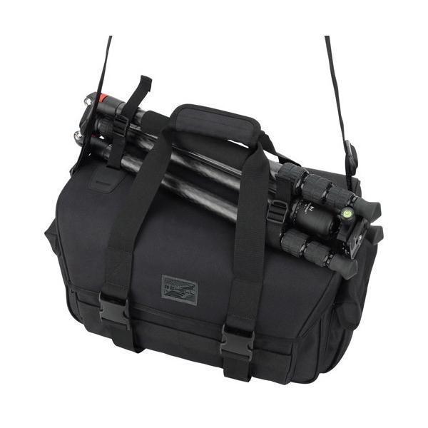 ハクバ プラスシェル リッジ03 ショルダーバッグ L ブラック SP-R03SBLBK 4977187206852|hakuba|05