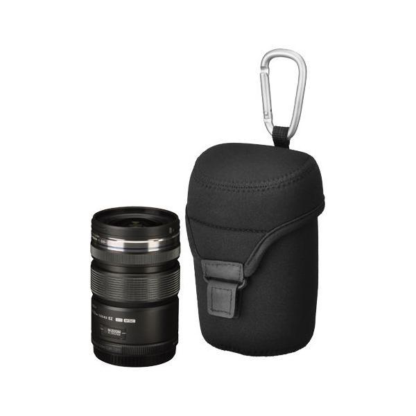Hakuba Lens case Neoprene Lens case L Black KLC-NPL