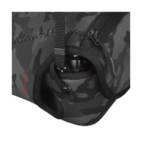 【訳ありアウトレット】ハクバ プラスシェル スリムフィット02 カメラジャケット M140 ブラックカモ DCS-SF02M140BC 4977187286236|hakuba|05
