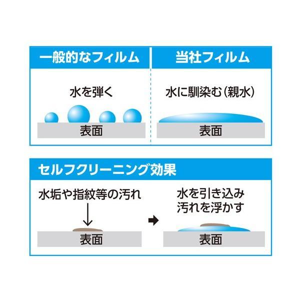 ハクバ OLYMPUS Tough TG-6 専用 液晶保護フィルム 親水タイプ  DGFH-OTG6 4977187346305|hakuba|02