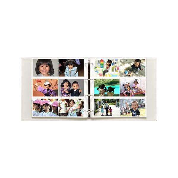 フォトアルバム レポートアルバム GRANDE EL600(グランデEL600) ホワイト ハクバ|hakuba|02