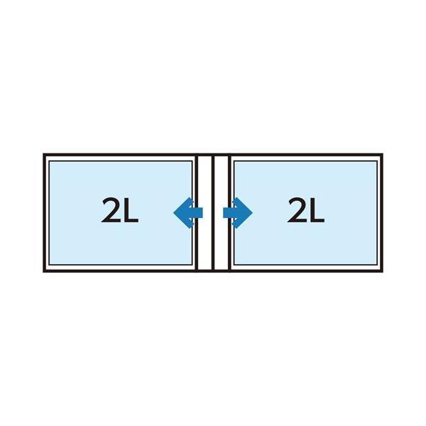 ハクバ Pポケットアルバム NP 2Lサイズ 横 20枚収納 フラワーズ APNP-2LY-FWS 4977187527438|hakuba|03