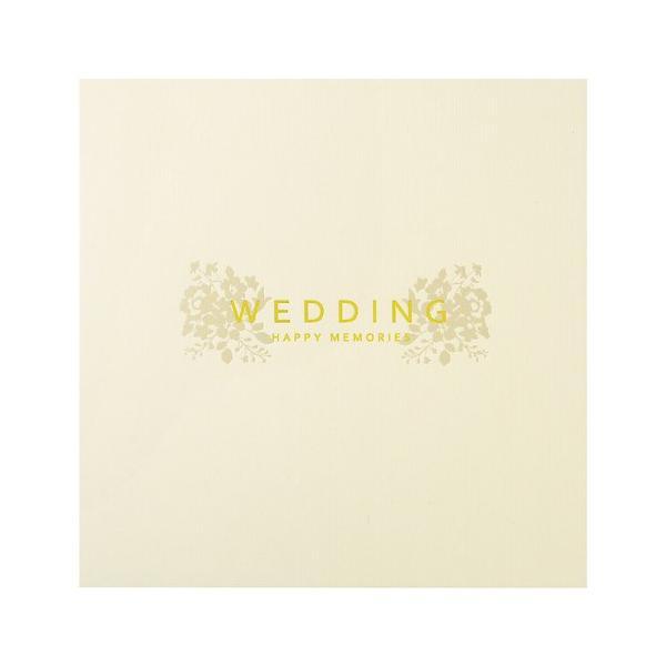 ハクバ ペーパースクウェア婚礼用台紙 No.180 写真サイズ:2L 2面 角・角 M180-SQ2L-2 4977187622522|hakuba