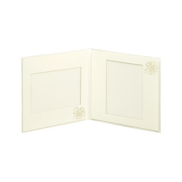 ハクバ ペーパースクウェア婚礼用台紙 No.180 写真サイズ:2L 2面 角・角 M180-SQ2L-2 4977187622522|hakuba|02