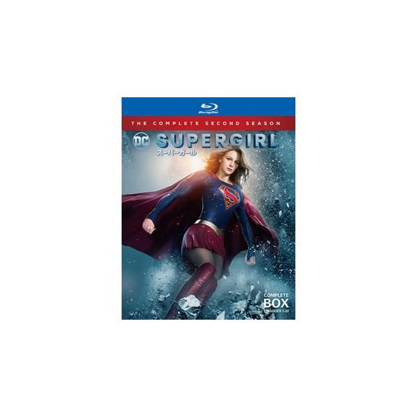 Blu-ray)SUPERGIRL/スーパーガールセカンド・シーズンコンプリート・ボックス〈4枚組〉(1000652676)
