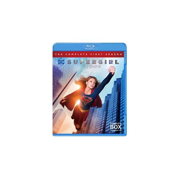 Blu-ray)SUPERGIRL/スーパーガールファースト・シーズンコンプリート・セット〈3枚組〉(1000693043)
