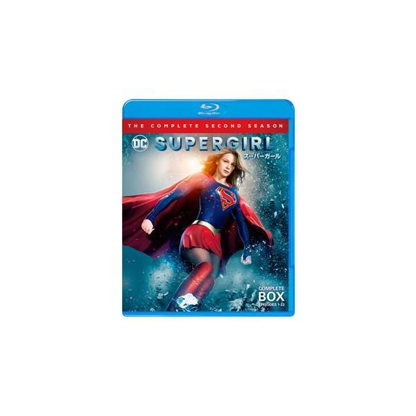 Blu-ray)SUPERGIRL/スーパーガールセカンド・シーズンコンプリート・セット〈4枚組〉(1000730046)