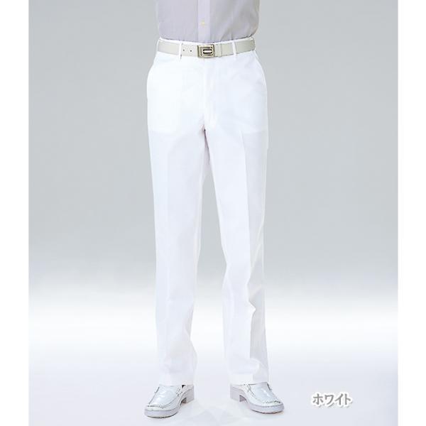 USA90 ナガイレーベン Naway男子スラックス パンツ ズボン 医療用 医師用 ドクター 白 ホワイト ナガイレーベン usa-90