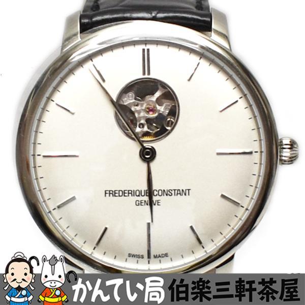 FREDERIQUE CONSTANT(フレデリックコンスタント)FC-312S4S6 SLIMLINE 自動巻き 裏スケ メンズ腕時計【中古】|hakuraku78