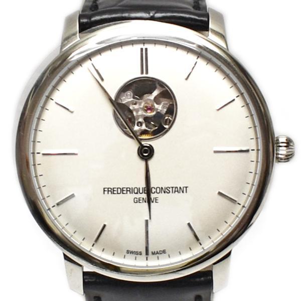 FREDERIQUE CONSTANT(フレデリックコンスタント)FC-312S4S6 SLIMLINE 自動巻き 裏スケ メンズ腕時計【中古】|hakuraku78|02