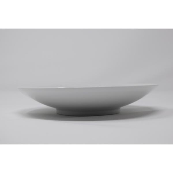 有田焼 博泉窯 白磁線文皿 中村慎 作 手造り シンプル カレー皿 パスタ皿 きれいな白磁 贈り物 ギフト 食器 |hakusengama|02