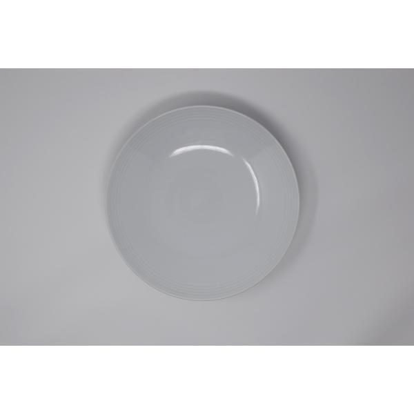 有田焼 博泉窯 白磁線文皿 中村慎 作 手造り シンプル カレー皿 パスタ皿 きれいな白磁 贈り物 ギフト 食器 |hakusengama|04