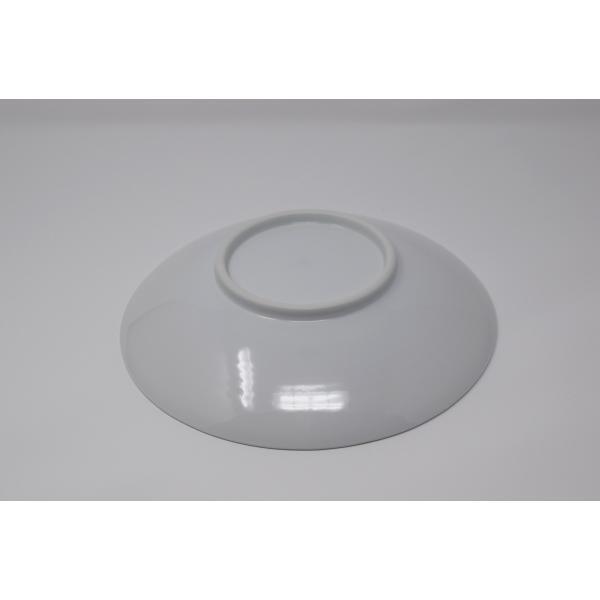 有田焼 博泉窯 白磁線文皿 中村慎 作 手造り シンプル カレー皿 パスタ皿 きれいな白磁 贈り物 ギフト 食器 |hakusengama|05