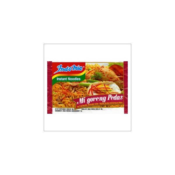 【ハラル認証】インドミー・ミーゴレンプダス(激辛タイプ・インスタント麺)(業務用/40袋入) 【HALAL(ハラール)】