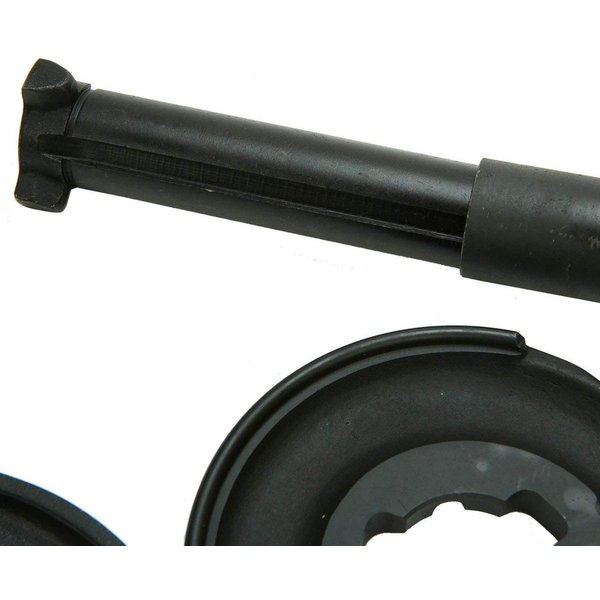 Supercrazy 5PCS Telescopic Coil Spring Strut Compressor Tool Kit For Mercedes Benz SF0011