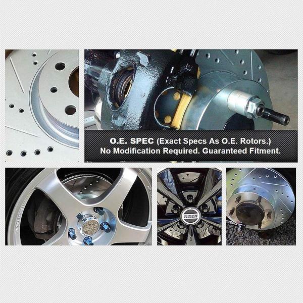 Brake Rotors Acura INTEGRA 1997-2001 Type-R FRONT POWERSPORT DRILL//SLOT
