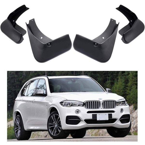 MOERTIFEI Car Mudguard Fender Mud Flaps Splash Guard Kit fit for Jeep Cherokee 2014-2018 15 16 17