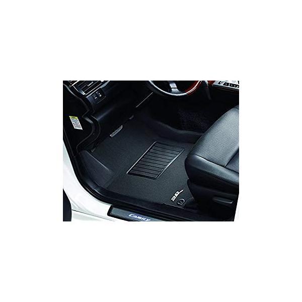 3D MAXpider Front Row Custom Fit All-Weather Floor Mat for Select Subaru Impreza Models Gray Kagu Rubber