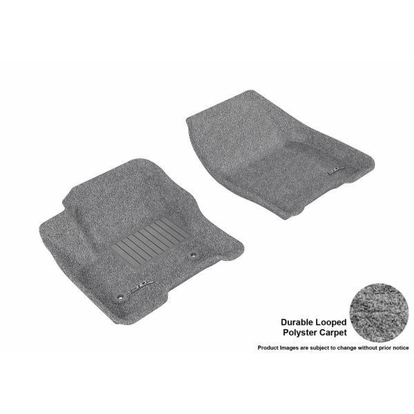 Classic Carpet 3D MAXpider Front Row Custom Fit Floor Mat for Select Subaru Impreza Models Tan