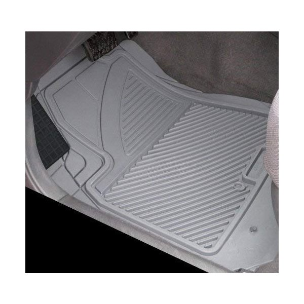 Grey Koolatron Pants Saver Custom Fit 4 Piece All Weather Car Mat for Select Ford Models