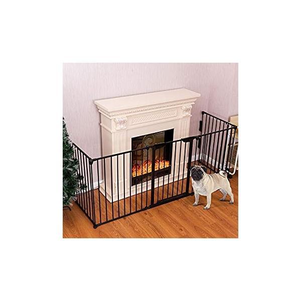 PETSJOY 5枚のパネルベビー&ペットセーフティゲート、暖炉安全柵、ハースBBQ|hal-proshop2|19