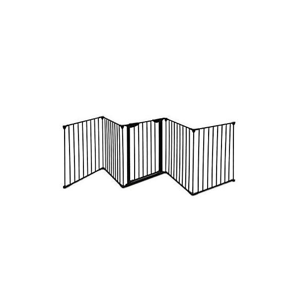 PETSJOY 5枚のパネルベビー&ペットセーフティゲート、暖炉安全柵、ハースBBQ|hal-proshop2|06