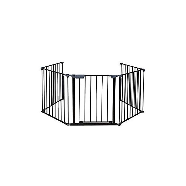 PETSJOY 5枚のパネルベビー&ペットセーフティゲート、暖炉安全柵、ハースBBQ|hal-proshop2|08
