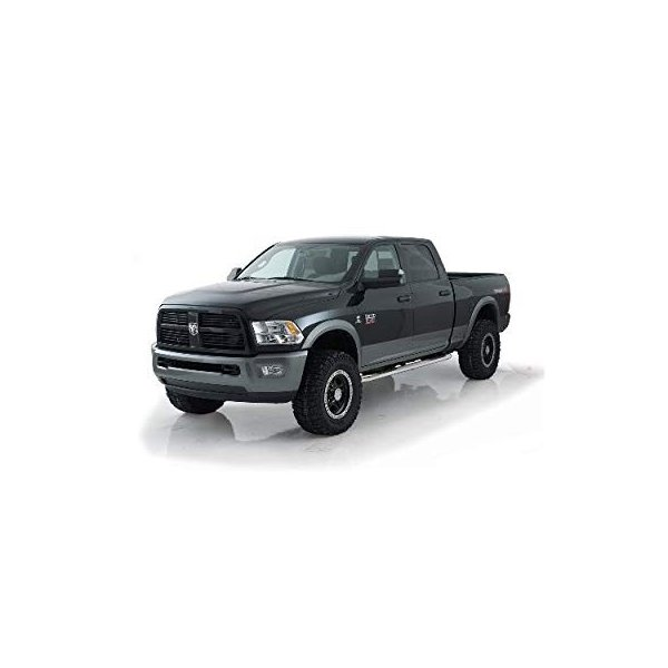 Smittybilt DN230-S4B Sure Step 3 Nerf Bars Black 94-01 Ram Quad Cab