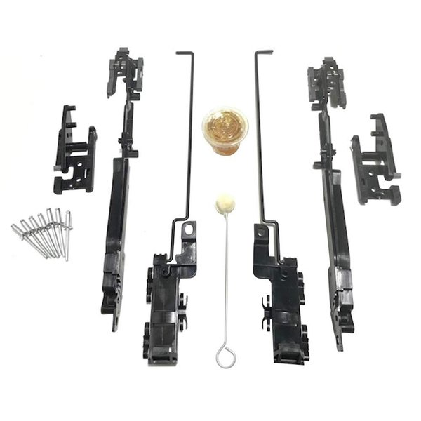 10 X New 2002-2008 Sunroof Track Assembly Repair Kit for Jeep Liberty|hal-proshop2|10