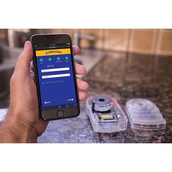 Zircon Leak Alert Electronic Water Detector with Audio Alarm
