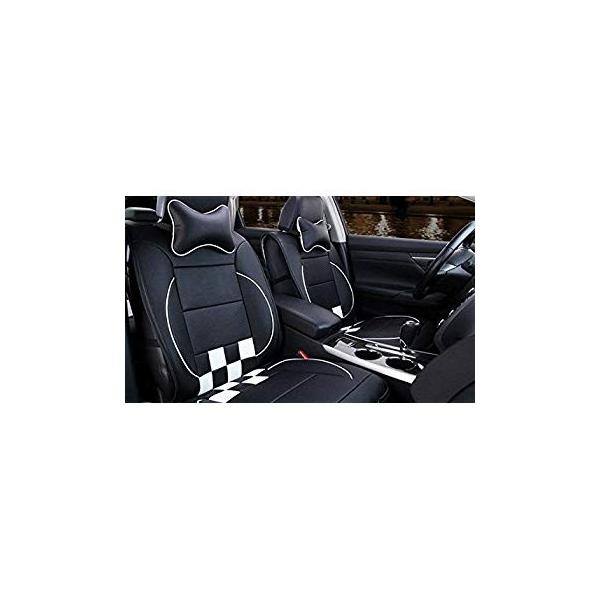MOEBULB PU Leather Front Rear Car Seat Cushion Cover 10pcs Full Set for Chevrolet Chevy Aveo Camaro Caprice Captiva Colorado Corvette Cruze Lacetti Lova Malibu