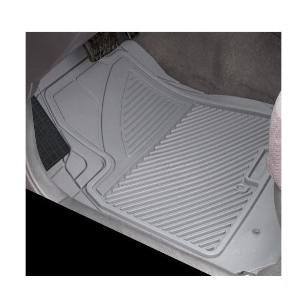Grey Koolatron Pants Saver Custom Fit 4 Piece All Weather Car Mat