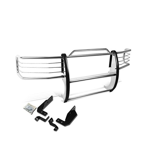 DNA MOTORING GRILL-G-042-SS Front Bumper Brush Grille Guard